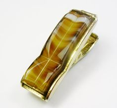 Vintage Sarah Coventry Tie Clip / gold tone by unclesteampunk