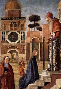 CARPACCIO, Vittore The Presentation of the Virgin (detail) 1504-08 Oil on canvas, 130 x 137 cm Pinacoteca di Brera, Milan