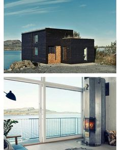 Hadar's House (646 ft²/ 60 m²), #Stokkøya Åfjord, #Norwayby Asante Architecture | More images @prefabnsmallhomes #interiors #interiordesign #architecture #decoration #interior #home #design #camper #bookofcabins #homedecor #decoration #decor #prefab #diy #lifestyle #compactliving #fineinteriors #cabin #shed #tinyhomes #tinyhouse #cabinfever #inspiration #tinyhousemovement #airstream #treehouse #cabinlife #cottage