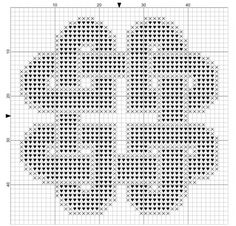 Knotted Hearts Free Cross Stitch Pattern