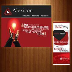 Alexicon needs Tradeshow Display designs by Jessie Raymundo
