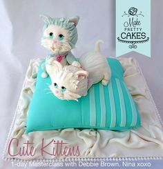 Cute Kittens and how Debbie Brown improved my skills!