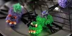 Itsy, Bitsy, Spooky Spider Treats™ Recipe | Kellogg's® Rice Krispies®