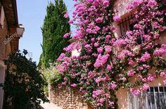 Provence - Cote d´Azur - Southern France - Grimaud, Village