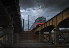 PhotoGraphist: КУПЧИНСКАЯ ЭЛЕКТРИЧКА. БОРОВАЯ Train, Strollers