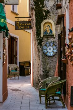 Lovely corner in Maratea (Basilicata, Italy)