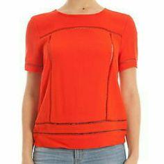 New Michael Kors Top Beautiful orange top with cut-out Michael Kors Tops