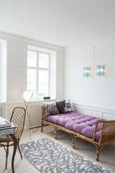 #sofa #bed #purple