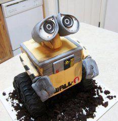 Wall-e Cake made by @Lavece Smith