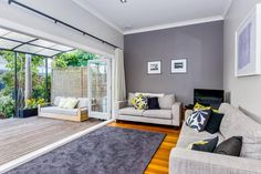 Good use of the narrow space to maximise indoor /outdoor flow - Provost St in Ponsonby