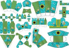Frozen Fever Party: Free Printable Boxes.