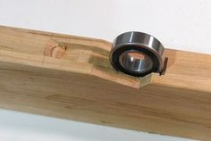 Mobile table saw base - with ball bearings