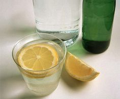 Lemon Water: Lemons are a great source of vitamin C, which is known to help the body detox and burn fat. Dr. Frank Lipman recommends drinking water with lemon every morning as a way to alkalize the body and help with digestion.