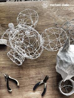 Méchant Design: working time in my studio