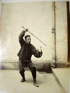 Chen Wei Ming (1881- 1958) - Yang Cheng Fu's Chief Disciple - Yang Tai Chi Straight Sword