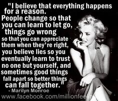 Marilyn Monroe Quotes And Sayings Life Quotes Love, Great Quotes, Quotes To Live By, Me Quotes, Inspirational Quotes, Qoutes, Motivational, Reason Quotes, Angel Quotes
