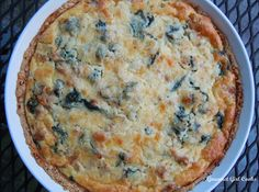 Gourmet Girl Cooks: Sausage, Baby Kale & White Cheddar Quiche Kale Quiche, Sausage Quiche, Egg White Quiche, Wheat Belly Recipes, Wheat Free Recipes, Kale Recipes, Real Food Recipes, Sausage Recipes, Ww Recipes