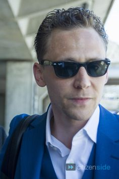 Tom Hiddleston at the Airport in France on May 25, 2013