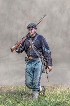 Sargento de  infantería de la Unión