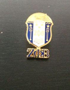 Zeta Phi Beta Sorority 3D Color Shield Pin w/letters in Collectibles, Historical Memorabilia, Fraternal Organizations | eBay