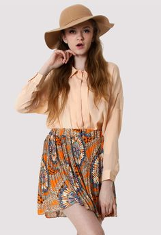 Beige Double Pockets Shirt - New Arrivals - Retro, Indie and Unique Fashion