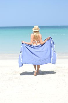 Fouta Sousse blue