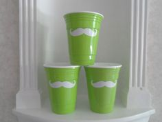 Mustache Glasses  Lime Green Solo Cup   by YouniquelyElegant #BlackFriday #CyberMonday