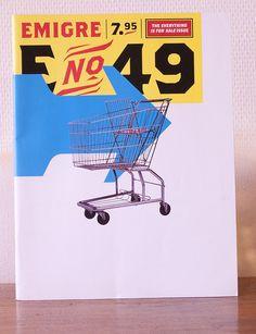 Emigre Magazine 49 by Typefaces world, via Flickr