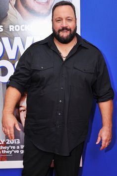 Pin for Later: Johnny Depp Will Play the Legendary Magician Houdini Kevin James joined Stranded a family comedy/action movie. Outfits For Big Men, Clothes For Big Men, Kevin James, Large Men Fashion, Mens Fashion, Johnny Depp, Lgbt, Chubby Men, Plus Size Men