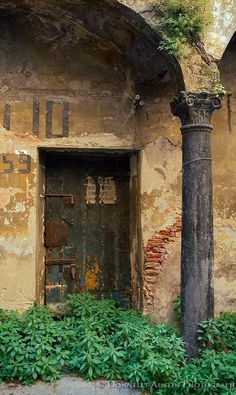 Lucca, Tuscany, Italy, culture, door, wooden, aged, decay, beauty, weathered, architechture, photograph, photo