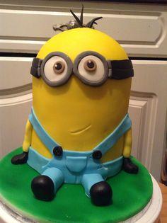 Kevin Minion Cake kevin the minion cake . minion cakes pinterest the ...