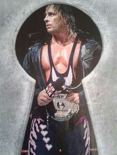 Bret Hart Born: July is an American - Canadian retired professional wrestler, writer & actor. Debut: 1978 - Retired: 2000 after he suffered a serious concussion during a match with Goldberg. Hitman Hart, Contact Sport, Wwe World, Sexy Men, Writer, Foundation, Wrestling, Actors, American