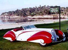 1937 Delahaye F Roadster