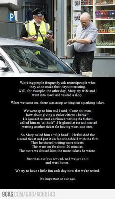 Trolling Oldies... I will so be doing this when I retire!!