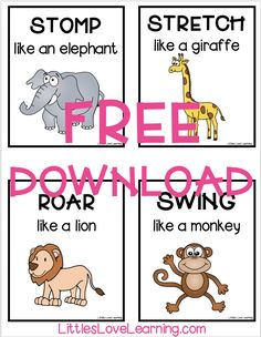 Dear Zoo is a favorite book in my class! Check out these Dear Zoo activities for preschool & kindergarten. Includes a FREE printable game, snack, & craft. Zoo Activities Preschool, Animal Activities For Kids, Preschool Kindergarten, Toddler Preschool, Preschool At Home, Home Activities, Toddler Activities, All About Me Activities For Toddlers, Zoo Animals For Kids