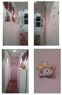 Minha casa. .. detalhes corredor