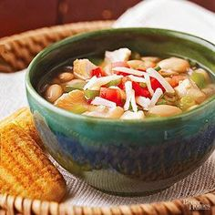 Chicken Chili Short on time? Move the slow cooker setting for this fiery hot white chili recipe to high. If you like, serve in store-bought bread bowls.