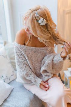 Winterhochzeit Blume Krone Bridal Blume Krone von SERENlTY auf Etsy