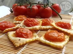 Crackers ai pomodorini