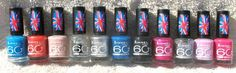 Rimmel London 60 Seconds Nail Polish Lot of 11 Different Colors