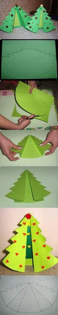 Kerstboomkaart