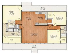 House Building Videos Plans New Homes Building A House Videos Must Haves Guest Rooms Barn House Plans, Dream House Plans, Small House Plans, House Floor Plans, Open Floor Plans, Texas House Plans, Simple Floor Plans, D House, House With Porch