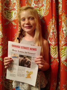 Hilde Kate Lysiak is a born reporter. That is, born nine years ago. She prowls her neighborhood for her Orange Street News, commonly tracking stories like a police investigation of a nefarious plant vandal but once even breaking the news of a local murder. Those of us with newsprint in our veins will recognize the signs of someone bitten by the journalism bug. And we welcome her to the fold. —   John Schwartz, Science Reporter