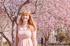 This pretty pink Modcloth dress was the perfect outfit for a springtime day out in DC!