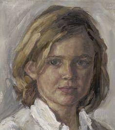 Detail portret Benthe