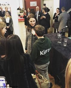 The Duchess of Cambridge carried out an unannounced engagement today; making a surprise visit to the Amnesty International UK office for a ...