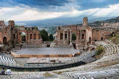 Taormina. Sicile. Italie