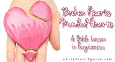 It's one thing to encourage forgiveness; it's quite another to get kids to understand how to forgive. Fortunately, forgiveness, – like other important Christian virtues such as love – is about commitment and not about feelings. This Bible lesson using dried play dough that can be moistened and reshaped into a heart will help kids understand.