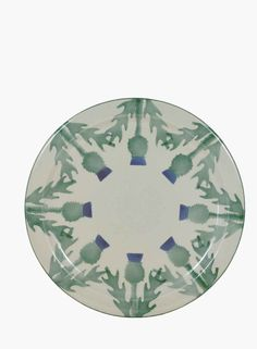 Cream Thistle Serving Plate - Serving Dishes - Stoneware