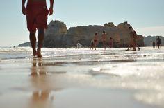 walking in the beach :: Praia dos 3 Castelos, Portimão